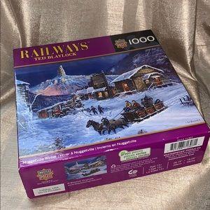 Ted Blaylock puzzle nib railways